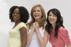 blog healthy women laughing Vitamin L: I Get By With A Little Help From My Friends
