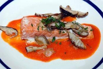 Salmon from Elana's Pantry