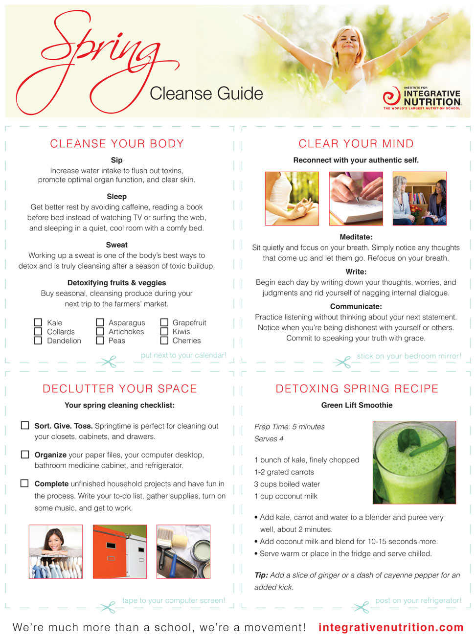 spring cleanse guide