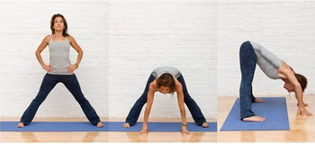 Yoga article from Easy Eats